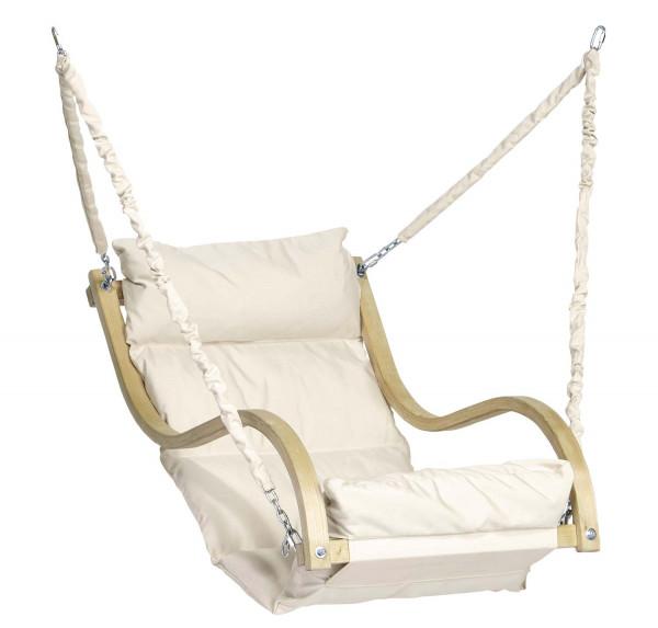 Der Fat Chair ist der dick gepolsterte Hängesessel von AMAZONAS für den indoor und outdoor Bereich
