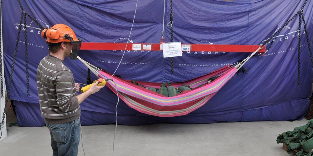 AMAZONAS Testanlage für noch mehr Sicherheit