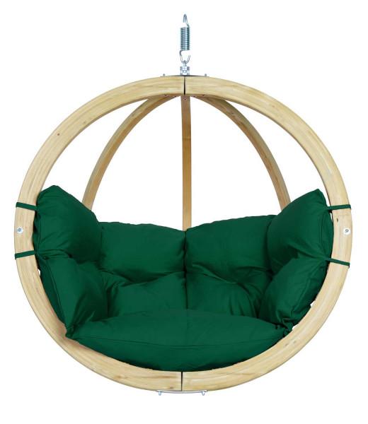 Der AMAZONAS Globo Chair ist der moderne Hängesessel mit dicker Polsterung für den Indoor- und Outdoorbereich