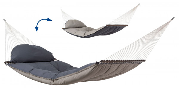 AMAZONAS Fat Hammock- an extra tick lined, super comfortable luxury hammock for the garden