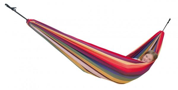 The colourful AMAZONAS Children's hammock Chico Rainbow