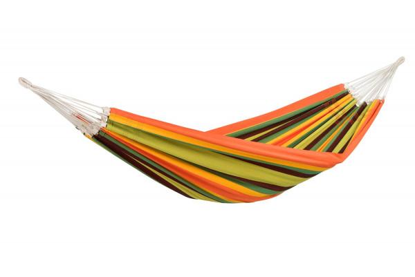 AMAZONAS Paradiso ist die farbenfrohe brasilianische XXL-Hängematte für höchsten brasilianischen Hängemattenkomfort